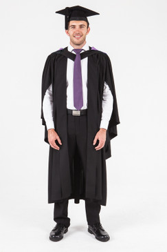 UON Bachelor Graduation Gown Set - Music - Front view