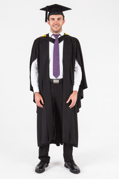 UON Bachelor Graduation Gown Set - Visual Arts, Design and Comms - Front view