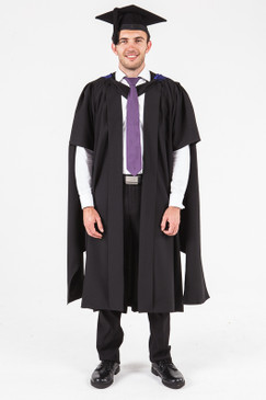 UON Masters Graduation Gown Set - Engineering - Front view