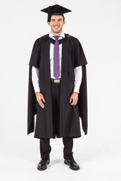UON Masters Graduation Gown Set - Architecture and Building - Front view