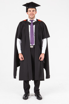 UON Masters Graduation Gown Set - Nursing - Front view
