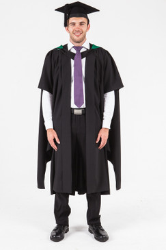 UON Masters Graduation Gown Set - Education - Front view