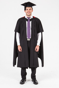 UON Masters Graduation Gown Set - Law - Front view