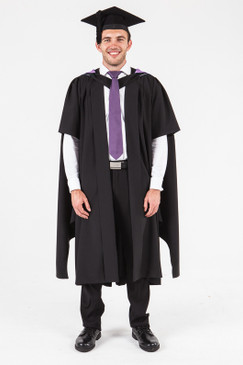UON Masters Graduation Gown Set - Music - Front view