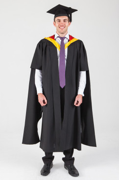 Macquarie University Masters Graduation Gown Set - Medicine - Front view