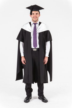 University of Western Australia Masters Graduation Gown Set - Architecture - Front view