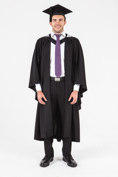 University of Adelaide Bachelor Graduation Gown Set - Society, Culture, Education, and Law - Front view