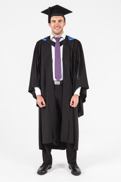 University of Adelaide Honours Graduation Gown Set - Business and Commerce - Front view
