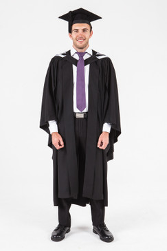 University of Adelaide Honours Graduation Gown Set - Society, Culture, Education, and Law - Front view