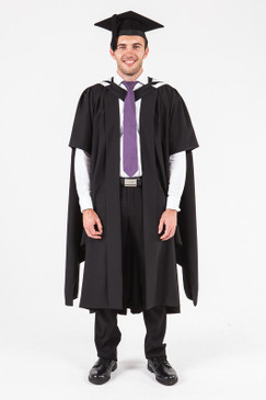 University of Adelaide Masters Graduation Gown Set - Standard - Front view