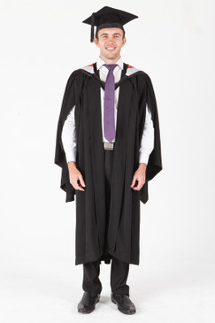 University of Sydney Bachelor Graduation Gown Set - Commerce - Front view