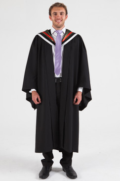 University of Melbourne Bachelor Graduation Gown Set - Biomedicine - Front view