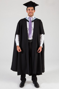 University of Melbourne Masters Graduation Gown Set - Business and Economics - Front view