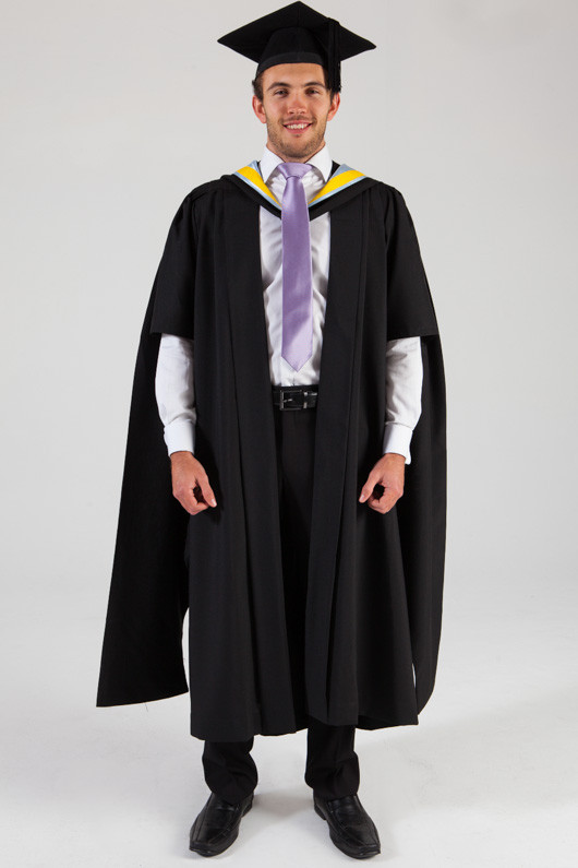 how to wear graduation regalia unimelb
