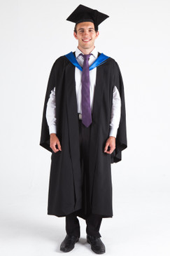 JCU Bachelor Graduation Gown Set - Standard - Front view
