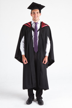 University of Canberra Bachelor Graduation Gown Set - 4 year degrees