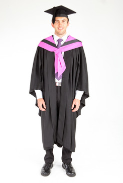 Bachelor Graduation Gown Set for UTS - Health - Front view