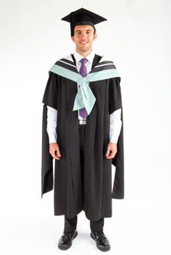 Masters Graduation Gown Set for UTS - Business - Front view