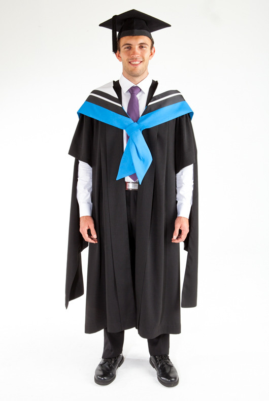 Masters Graduation Gown Set For Uts Information