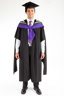 Masters Graduation Gown Set for UTS - Law - Front view