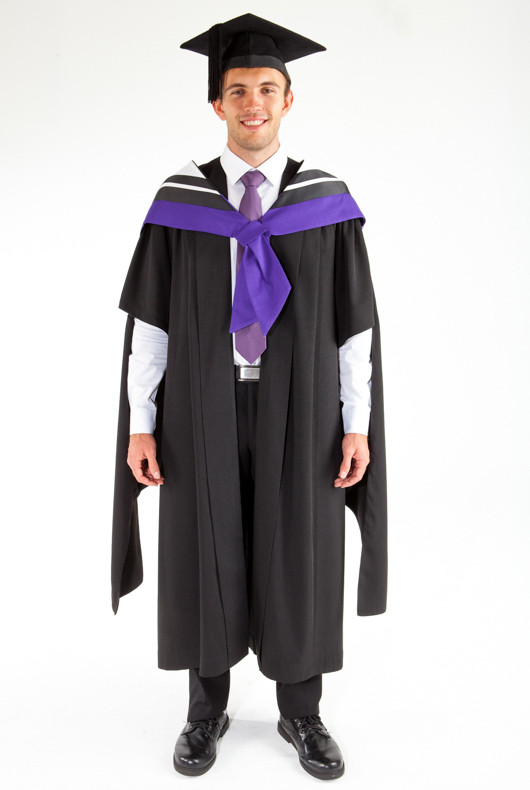 Masters Graduation Gown Set for UTS - Law | GownTown | Graduation Gowns