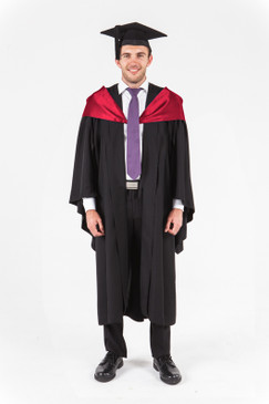 UniSA Bachelor Graduation Gown Set - Management and Commerce - Front view