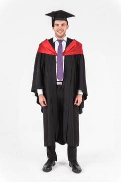 UniSA Bachelor Graduation Gown Set - Health Sciences - Front view
