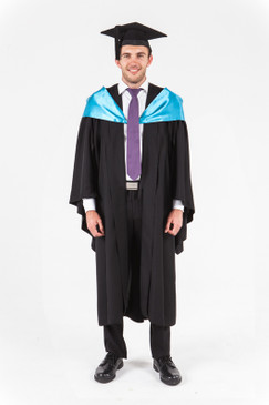 UniSA Bachelor Graduation Gown Set - Creative Arts - Front view