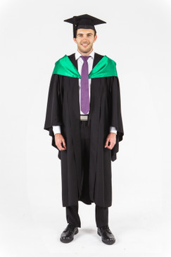 UniSA Bachelor Graduation Gown Set - Engineering - Front view