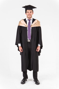 UniSA Bachelor Graduation Gown Set - Information Technology - Front view