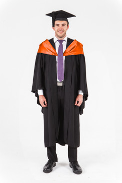 UniSA Bachelor Graduation Gown Set - Agriculture and Environment - Front view