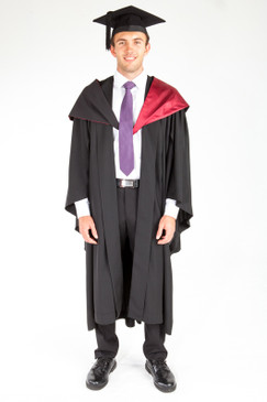 ACU Bachelor Graduation Gown Set - Law and Business - Front view