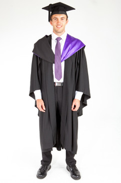 ACU Bachelor Graduation Gown Set - Theology and Philosophy - Front view