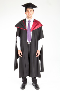 ACU Masters Graduation Gown Set - Law and Business - Front view