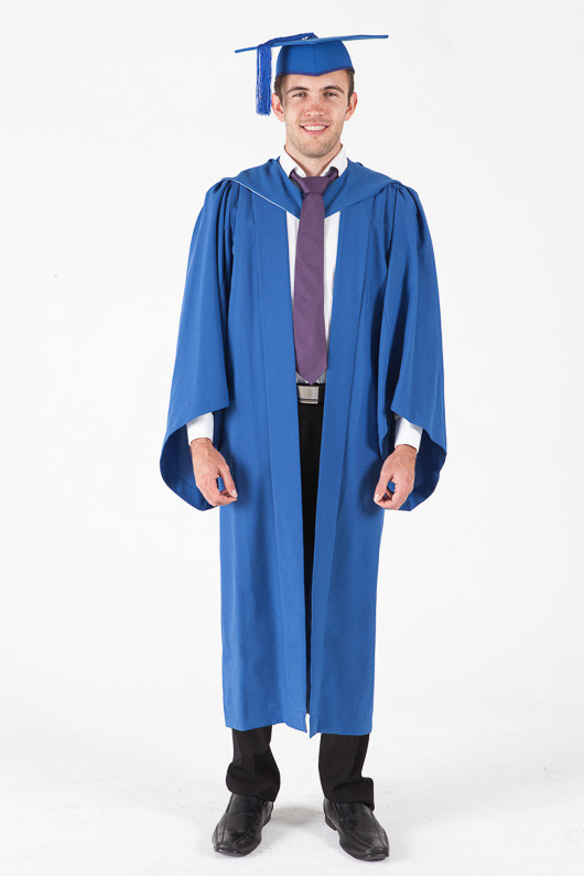 Bachelor Graduation Gown Set for UOW - Standard - Front view