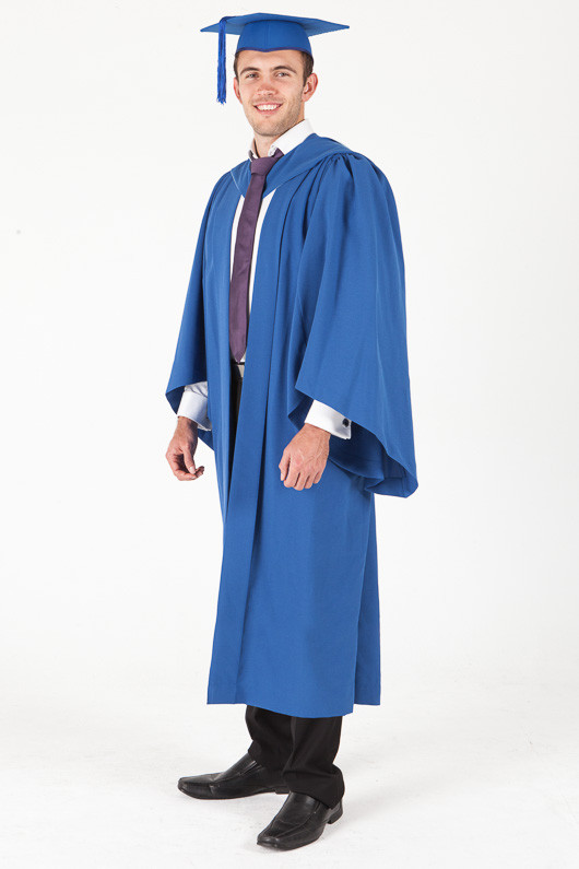 Bachelor Graduation Gown Set for UOW - Standard - Front angle view