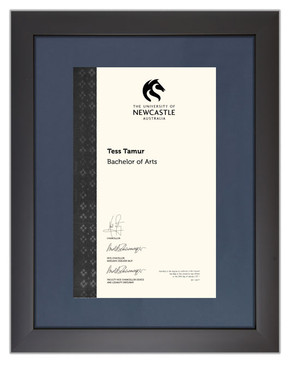 Degree Certificate Frame for University of Newcastle