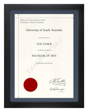 Degree Certificate Frame for University of South Australia