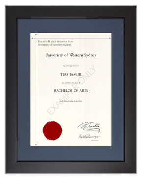 Degree Certificate Frame for UWS