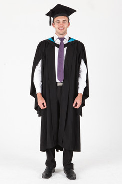 ANU Bachelor Graduation Gown Set - Medicine and Health Studies - Front view