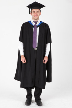 ANU Masters Graduation Gown Set - Arts and Social Sciences - Front view