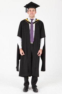 ANU Masters Graduation Gown Set - Business and Economics - Front view