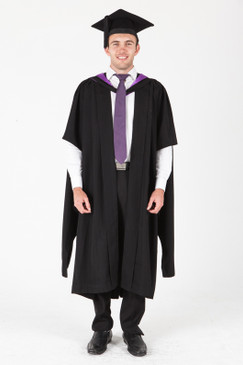 ANU Masters Graduation Gown Set - Law - Front view