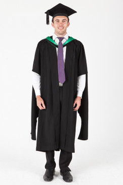ANU Masters Graduation Gown Set - Natural Sciences - Front view