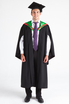 CSU Bachelor Graduation Gown Set - Education - Front view