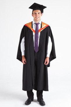 CSU Bachelor Graduation Gown Set - Science - Front view