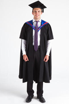 CSU Masters Graduation Gown Set - Business - Front view