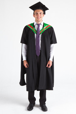 CSU Masters Graduation Gown Set - Education - Front view