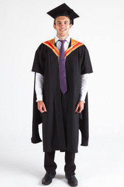 CSU Masters Graduation Gown Set - Science - Front view