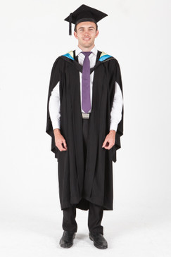 University of Sydney Bachelor Graduation Gown Set - Applied Science - Front view